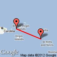 Saba (J. Yrausquin, SAB) - Saint Thomas (Cyril E King Airport, STT)