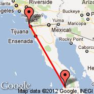 San Diego (San Diego International Airport, SAN) - Guerrero Negro (GUB)