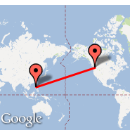 Seattle (Seattle-Tacoma International, SEA) - Luzon Island (Diosdado Macapagal International, CRK)