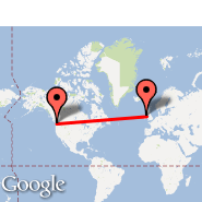 Seattle (Seattle-Tacoma International, SEA) - Dublin (Dublin International Airport, DUB)