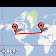 Seattle (Seattle-Tacoma International, SEA) - London (Metropolitan Area, LON)