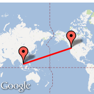 Seattle (Seattle-Tacoma International, SEA) - Can Tho (International (Tr, VCA)