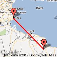 Sfax (Sfax Thyna, SFA) - Tripoli (Kleyate, KYE)