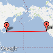 San Francisco (San Francisco International, SFO) - Tokio (Metropolitan Area, TYO)