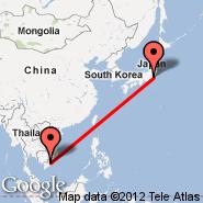 Ho Chi Minh City (Tan Son Nhat International, SGN) - Tokyo (Metropolitan Area, TYO)