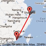 Šangaj (Hongqiao, SHA) - Shantou (Waisha, SWA)