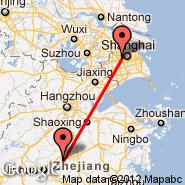 Šangaj (Hongqiao, SHA) - Yiwu (YIW)