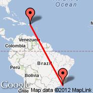 San Juan (Luis Munoz Marin Intl, SJU) - Rio de Janeiro (Metropolitan Area, RIO)