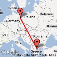 Solun (Macedonia International, SKG) - Berlin (Berlin Metropolitan Area, BER)