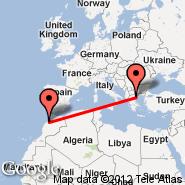 Solun (Macedonia International, SKG) - Casablanca (Anfa, CAS)