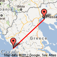 Solun (Macedonia International, SKG) - Preveza (Aktion, PVK)