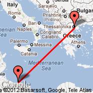 Solun (Macedonia International, SKG) - Tripoli (International, TIP)