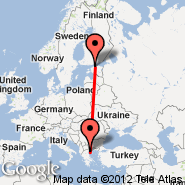 Solun (Macedonia International, SKG) - Tallinn (Ulemiste, TLL)