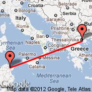 Solun (Macedonia International, SKG) - Tunis (Carthage, TUN)