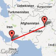 Sialkot (Sialkot International, SKT) - Sharjah (Sharjah International Airport, SHJ)