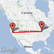 Sacramento (Sacramento International, SMF) - Indianapolis (Indianapolis International, IND)