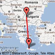 Sofija (Sofia International (Vrajdebna, Vrazhdebna), SOF) - Chania/Kreta (Souda, CHQ)
