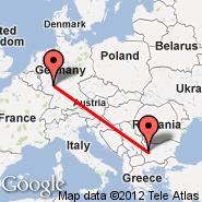 Sofija (Sofia International (Vrajdebna, Vrazhdebna), SOF) - Wiesbaden (Air Base, WIE)