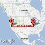 St Louis (Lambert-St. Louis International, STL) - Sacramento (Sacramento International, SMF)