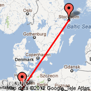 Stockholm (Metropolitan Area, STO) - Hannover (Hanover Arpt, HAJ)