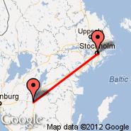 Stockholm (Metropolitan Area, STO) - Jonkoping (Axamo, JKG)