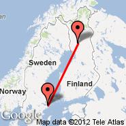 Stockholm (Metropolitan Area, STO) - Rovaniemi (RVN)