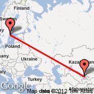 Stoccolma (Metropolitan Area, STO) - Tashkent (Yuzhny, TAS)