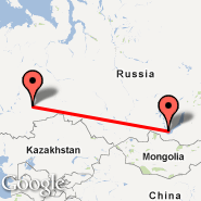 Ekaterinburg (Koltsovo International Airport, SVX) - Irkutsk (IKT)