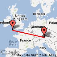 Salzburg (W. A. Mozart, SZG) - Newquay (Newquay Cornwall Airport, NQY)