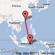 Shenzhen (SZX) - Makassar (Hasanudin, UPG)