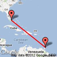 Tobago (Crown Point Airport, TAB) - Miami (Miami International Airport, MIA)