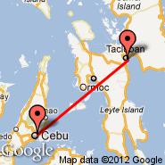 Tacloban (D.Z. Romualdez, TAC) - Cebu (Mactan-Cebu International, CEB)
