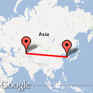 Taškent (Yuzhny, TAS) - Seoul (Incheon International, ICN)
