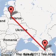Tbilisi (Lochini, TBS) - Vilnius (Vilnius International Airport, VNO)