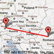 Tirgu Mures (Transilvania, TGM) - München (Franz Josef Strauss, MUC)