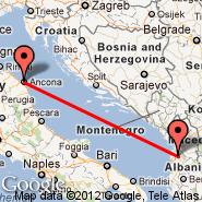 Tirana (Rinas Mother Teresa, TIA) - Ancona (Falconara, AOI)