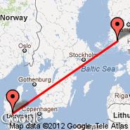 Turku (TKU) - Billund (BLL)