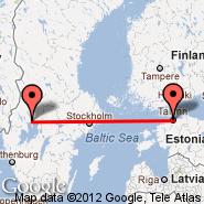 Tallinn (Ulemiste, TLL) - Karlstad (KSD)