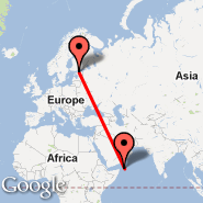 Tallinn (Ulemiste, TLL) - Socotra (Socotra International Airport, SCT)