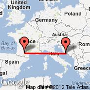 Toulouse (Blagnac, TLS) - Split (Kastel, SPU)