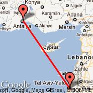 Tel Aviv (Ben Gurion Intl, TLV) - Antalya (AYT)