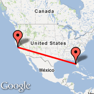 Tampa (Tampa International, TPA) - San Francisco (San Francisco International, SFO)