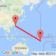 Taipei (Taiwan Taoyuan International, TPE) - Funafuti Atoll (International, FUN)