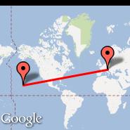Trieste (Ronchi Dei Legionari, TRS) - Hawaii (HI)