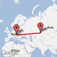 Astana (TSE) - Beč (Schwechat International, VIE)