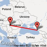 Temišvar (Giarmata, TSR) - Adler-Sochi (Adler/Sochi, AER)