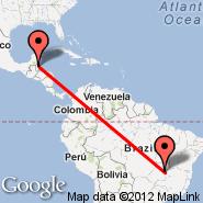 Belize City (Municipal, TZA) - Brasilia (Presidente Juscelino Kubitschek, BSB)
