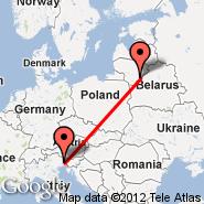 Udine (Airfield, UDN) - Vilnius (Vilnius International Airport, VNO)