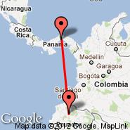 Quito (Mariscal Sucre, UIO) - Panama City (Tocumen International, PTY)