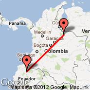 Quito (Mariscal Sucre, UIO) - Tame (TME)